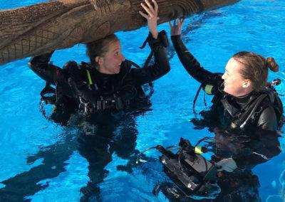Underwater crew 8